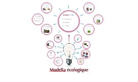 Modelia écologique