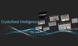 Crystallized Intelligence