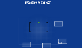 Evolution In the Act