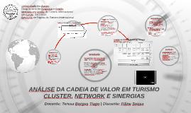 ANÁLISE DA CADEIA DE VALOR EM TURISMO