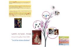 Isabel II, la de los tristes destinos