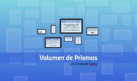 Volumen de Prismas
