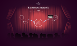Rasaboxes Research