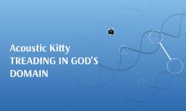 Acoustic Kitty: Journal Entry for Frankenstein