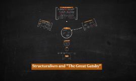 """Copy of Structuralism and """"The Great Gatsby"""""""