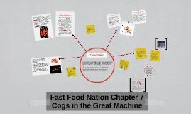 chapter 6 summary fast food nation Fast food nation fast food nation summary edit the book is divided in the final chapter, schlosser considers how fast food has matured as an american.