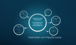 Diseñando con impacto social Temario