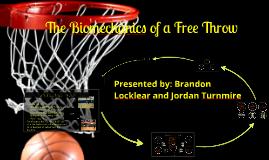 Biomechanics of a Free Throw