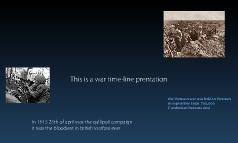 War time-line