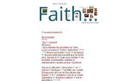 Copy of Faith