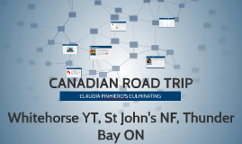 Copy of CANADIAN ROAD TRIP