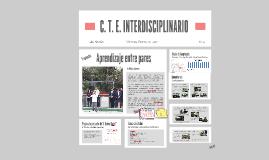 C. T. E. INTERDISCIPLINARIO