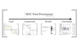 MIIC Final Presentation