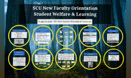 SCU New Faculty Orientation