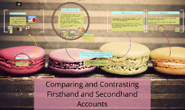 Copy of Comparing and Contrasting Firsthand and Secondhand Accounts