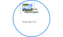 Conflict in Afghanistan