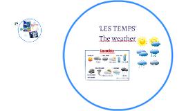 Copy of LES TEMPS
