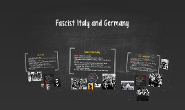 Fascist Italy and Germany