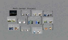 Math Career Project