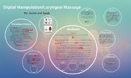 Digital Manipulation and Laryngeal Massage