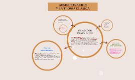 administracion y la teoria clasica