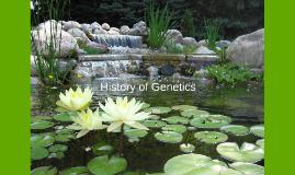 History of Genetics