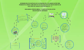 DISEÑO E IMPLEMENTACION DE HERRAMIENTAS TECNOLÓGICAS DE LA I