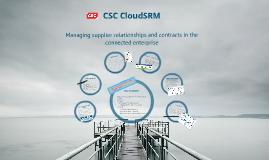 CSC CloudSRM