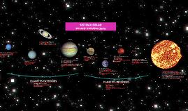 Sistema Solar. Missió Univers 2018