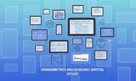 Hedonometrics and Scholarly Writing Styles!