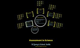 KS3 Science Assessment in St George's School Sevilla