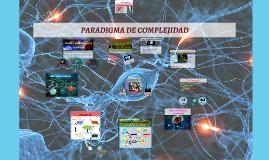 Paradigma de Complejidad