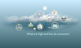 What are high and low air pressures?