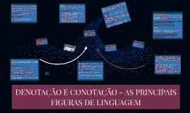DENOTAÇÃO E CONOTAÇÃO - AS PRINCIPAIS FIGURAS DE SINTAXE