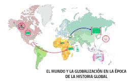 EL MUNDO COMO UNA CATEGORIA HISTÓRICA