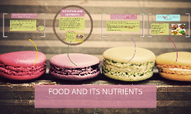 FOOD AND ITS NUTRIENTS