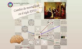 Cambio de mentalidad en el siglo XVIII