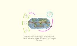 Copy of Bloque socialista europeo