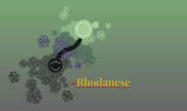 Rhodanese