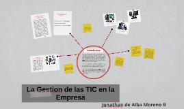 Copy of La Gestion de las TIC en la Empresa