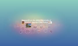 Research on the 2014 University of Waikato Smoke-Free Policy