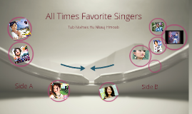 Copy of All Times Favorites Singers