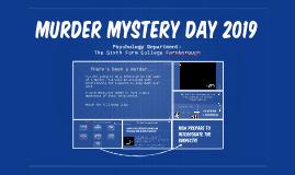 Murder Mystery Day 2017