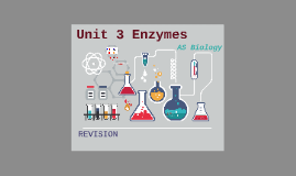 UNIT 3 ENZYMES AS BIOLOGY REVISION