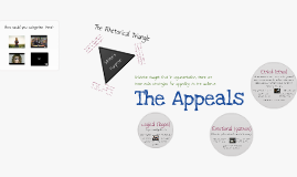 Copy of The Appeals