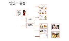 영양소 종류