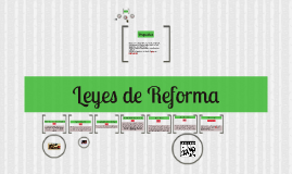 Copy of leyes de reforma