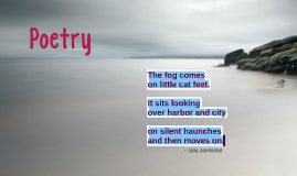 Poetry Analysis of Fog