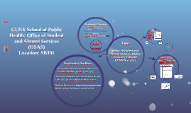 June 2015: CUNY School of Public Health: Office of Student and Alumni Services