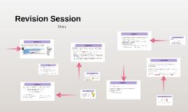 Unit 4- Revision session